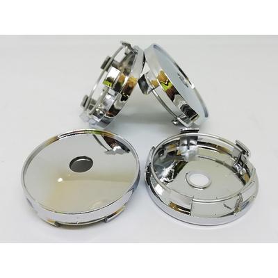 Колпачок в диск универсальный хром (металл+пластмас) 60/56мм заглушка