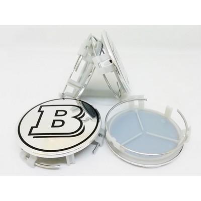 Колпачок в диск Mercedes-Benz Brabus (75/70) заглушка