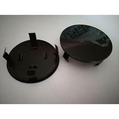 Колпачок в диск универсальный черный (метал+пластм) 55мм заглушка