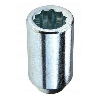 колесные Гайки 12х1,25 L36 ключ вн десятигранник Хром крепления для колесных дисков