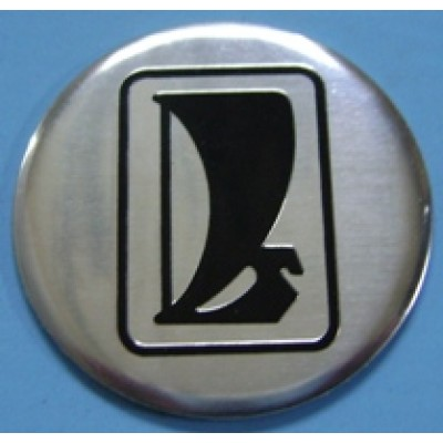 Наклейка на диск Lada 50 плоский с логотипом на колпачок колесных дисков