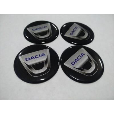 Наклейка на диск DACIA 60мм  с логотипом на колпачок колесных дисков