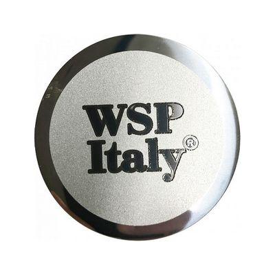 Наклейка на диск WSP italy выпуклый 57 мм с логотипом на колпачок колесных дисков