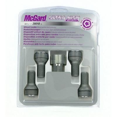 Секретные болты 14х1,5 L28мм сфера McGard 38018SL (2 keys) на колеса секретки для дисков