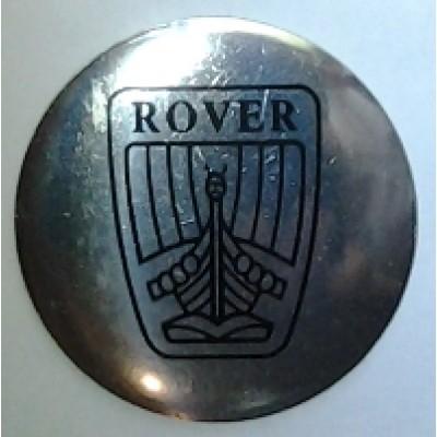 Наклейка на диск Rover 52 выпуклый с логотипом на колпачок колесных дисков