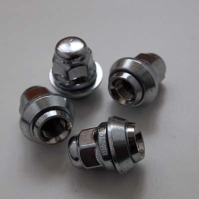колесные Гайки 12х1,5 с шайбой конус ключ 19 (Форд) крепления для колесных дисков