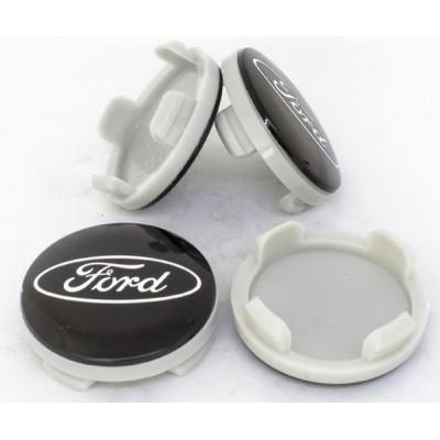 Колпачки на диски Ford 54/50 Черные 6M21 1003 AA заглушка