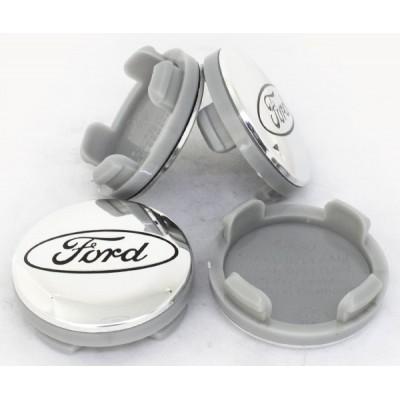 Колпачки на диски Ford 54/50 Хром 6M21-1003-AA заглушка