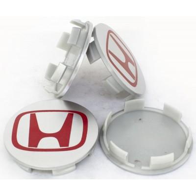 Колпачки на диски Honda 69/64 44732-S9A-A0061 Красный заглушка