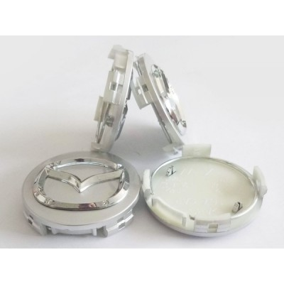 Колпачки на диски Mazda (57/57) 2477 серебро заглушка