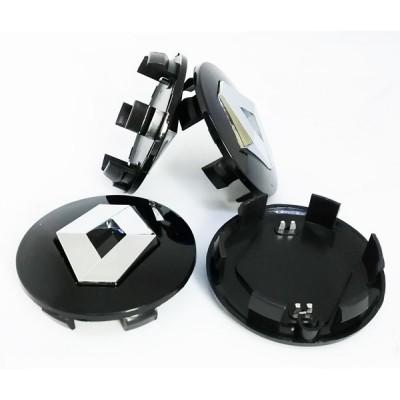 Колпачки на диски Renault (57/50) 8200043899 Черные заглушка