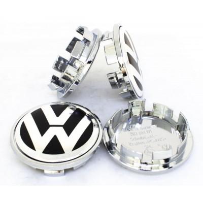 Колпачок в диск Volkswagen 66/56 Хром 3B7-601-171 заглушка
