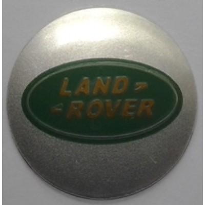 Наклейка на диск Land Rover 57 выпуклый с логотипом на колпачок колесных дисков