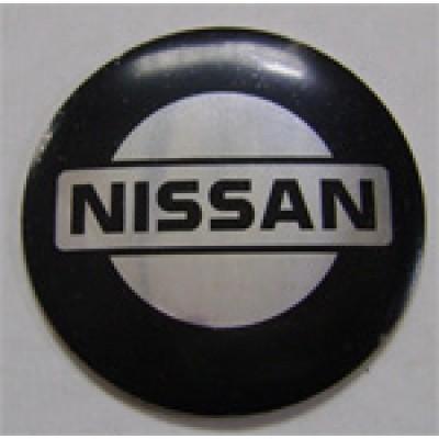Наклейка на диск Nissan 58 выпуклый с логотипом на колпачок колесных дисков