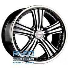 Racing Wheels H-434 8,5x20 5x112 ET45 DIA66,6 (BK-F/P)