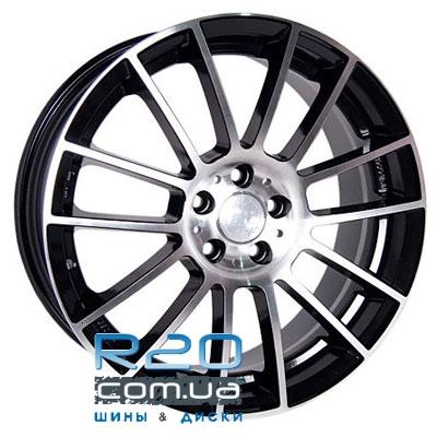 Racing Wheels H-408 6,5x15 5x114,3 ET40 DIA73,1 (BKFP) в Днепре