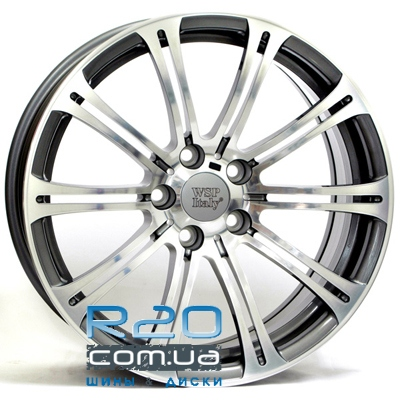 WSP Italy BMW (W670) M3 Luxor 9,5x19 5x120 ET17 DIA72,6 (anthracite polished) в Днепре