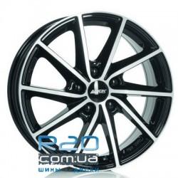 Alutec Singa 6x15 4x98 ET35 DIA58,1 (diamond black front polished)