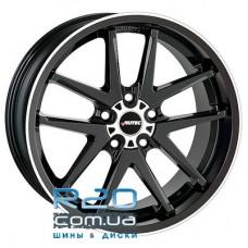 Autec Contest 8,5x18 5x112 ET25 DIA70,1 (black polished)