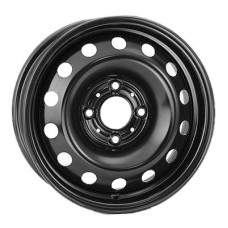 Steel Kapitan 6x15 4x114,3 ET45 (black)