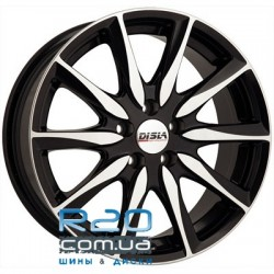 Disla Raptor 6,5x15 4x100/108 ET35 DIA72,6 (black diamond)