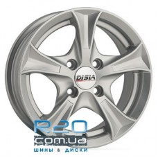 Disla Luxury 7,5x17 5x108 ET40 DIA67,1 (silver)