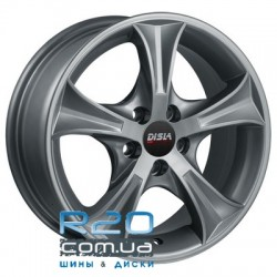 Disla Luxury 6,5x15 4x100 ET35 DIA67,1 (GM)