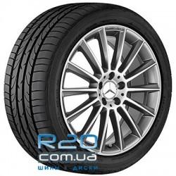 Mercedes OEM A2224010400 8,5x20 5x112 ET38 DIA66,6 (black polished)
