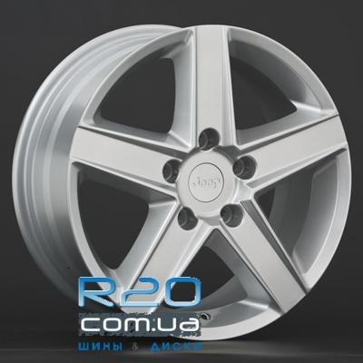 Replica Chrysler (CR5) 7x16 5x114,3 ET41,3 DIA71,4 (silver) в Днепре