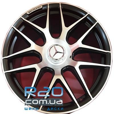 Replica Mercedes (MR251) 10x21 5x130 ET36 DIA84,1 (BKF) в Днепре