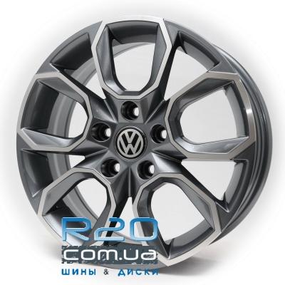 Replica Volkswagen (RB7) 7x17 5x112 ET40 DIA57,1 (GMF) в Днепре