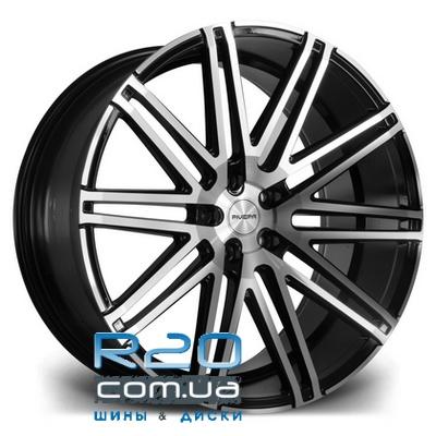 Riviera RV120 9x22 5x112 ET20 DIA74,1 (black polished) в Днепре
