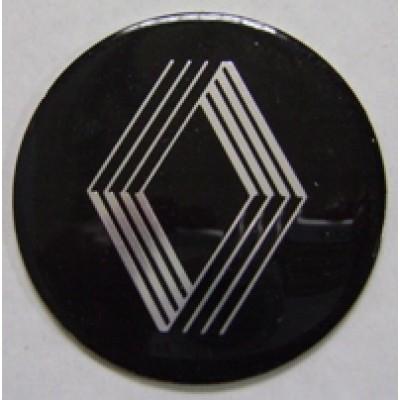 Наклейка на диск Renault 60 плоский с логотипом на колпачок колесных дисков
