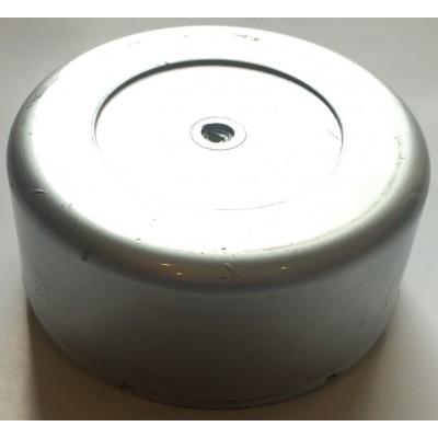 Крышка Стакан D=105 L=48 пластик серебро заглушка