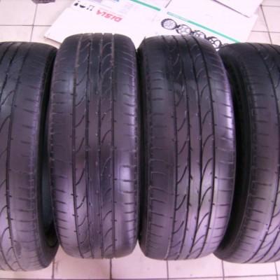Шины Bridgestone Dueler H/P Sport 215/60 R17 96H Б/У 5 мм