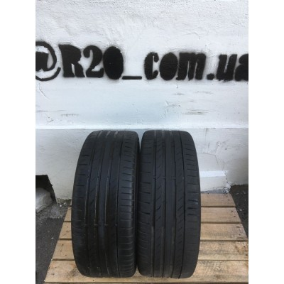Шины Continental ContiEcoContact 5 225/45 R17 91V Б/У 4 мм